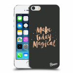 Picasee Apple iPhone 5/5S/SE Hülle - Transparenter Kunststoff - Make today Magical