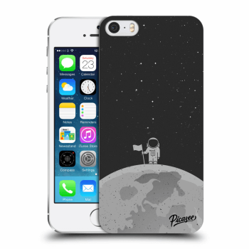 Picasee Apple iPhone 5/5S/SE Hülle - Transparenter Kunststoff - Astronaut