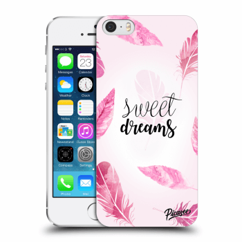 Picasee Apple iPhone 5/5S/SE Hülle - Transparentes Silikon - Sweet dreams