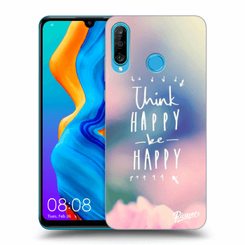 Hülle für Huawei P30 Lite - Think happy be happy