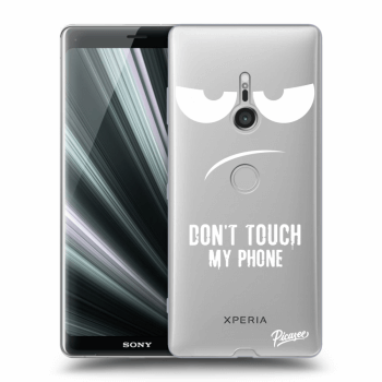 Hülle für Sony Xperia XZ3 - Don't Touch My Phone