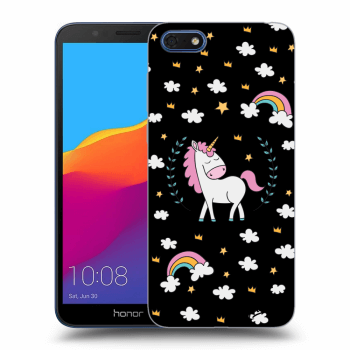 Hülle für Honor 7S - Unicorn star heaven