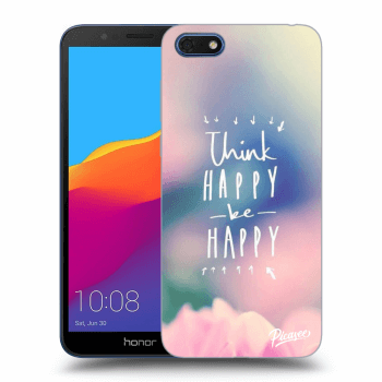 Hülle für Honor 7S - Think happy be happy