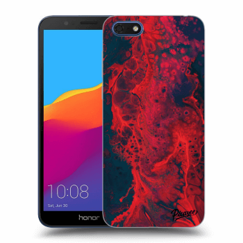Hülle für Honor 7S - Organic red