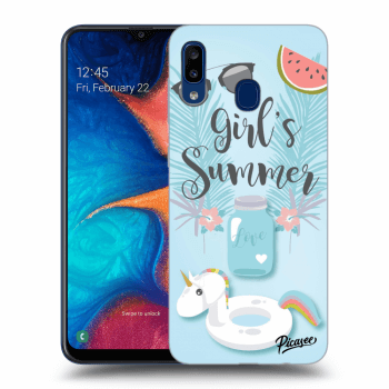 Hülle für Samsung Galaxy A20e A202F - Girls Summer