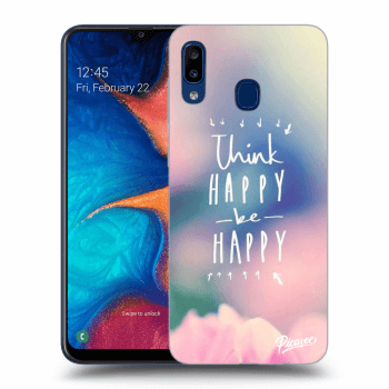 Hülle für Samsung Galaxy A20e A202F - Think happy be happy