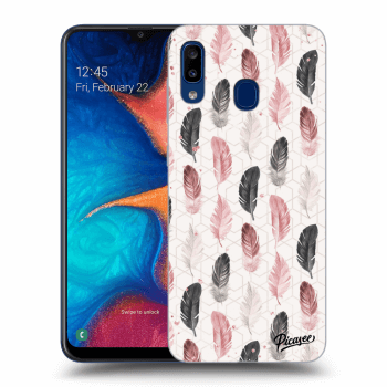 Hülle für Samsung Galaxy A20e A202F - Feather 2