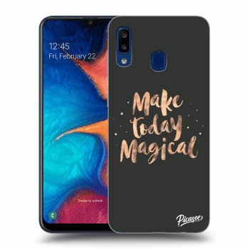 Hülle für Samsung Galaxy A20e A202F - Make today Magical