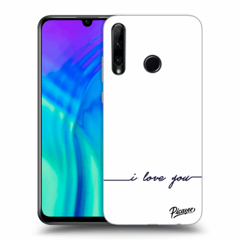 Hülle für Honor 20 Lite - I love you
