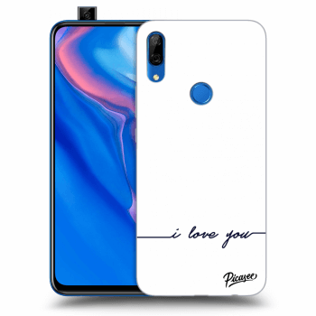 Hülle für Huawei P Smart Z - I love you