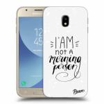 Picasee Samsung Galaxy J3 2017 J330F Hülle - Transparentes Silikon - I am not a morning person
