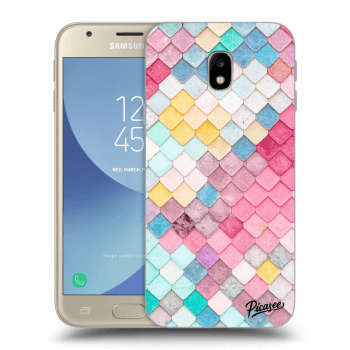 Hülle für Samsung Galaxy J3 2017 J330F - Colorful roof