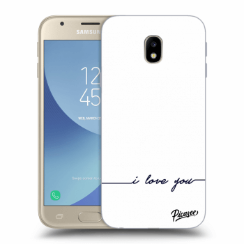 Hülle für Samsung Galaxy J3 2017 J330F - I love you