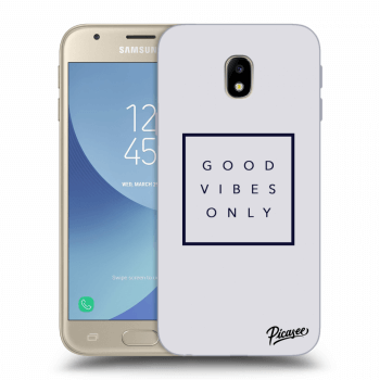 Hülle für Samsung Galaxy J3 2017 J330F - Good vibes only