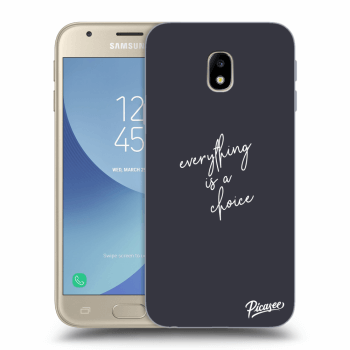 Hülle für Samsung Galaxy J3 2017 J330F - Everything is a choice
