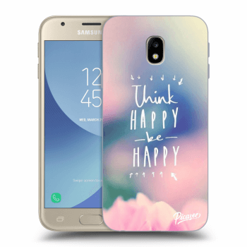 Hülle für Samsung Galaxy J3 2017 J330F - Think happy be happy