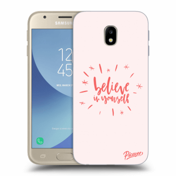 Hülle für Samsung Galaxy J3 2017 J330F - Believe in yourself