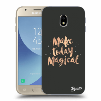 Hülle für Samsung Galaxy J3 2017 J330F - Make today Magical