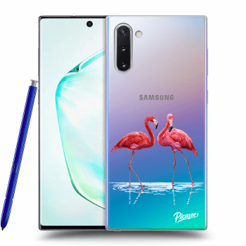 Hülle für Samsung Galaxy Note10 N970F - Flamingos couple