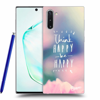 Hülle für Samsung Galaxy Note10 N970F - Think happy be happy