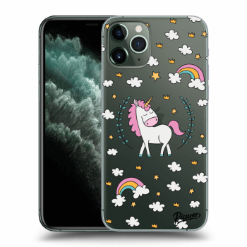 Hülle für Apple iPhone 11 Pro - Unicorn star heaven