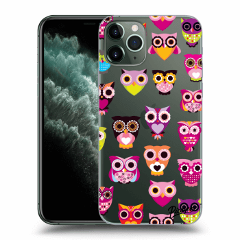 Hülle für Apple iPhone 11 Pro - Owls