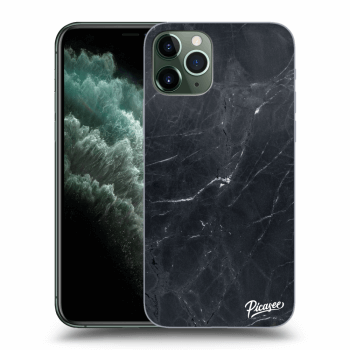 Hülle für Apple iPhone 11 Pro - Black marble
