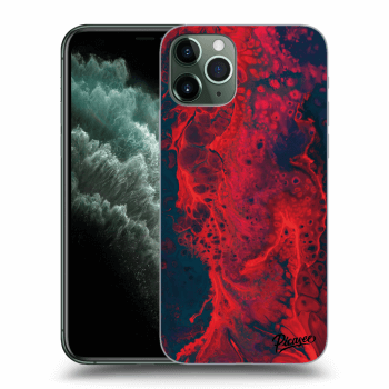 Hülle für Apple iPhone 11 Pro - Organic red