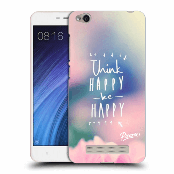 Hülle für Xiaomi Redmi 4A - Think happy be happy