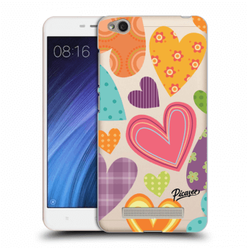 Hülle für Xiaomi Redmi 4A - Colored heart