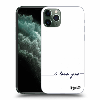 Hülle für Apple iPhone 11 Pro Max - I love you