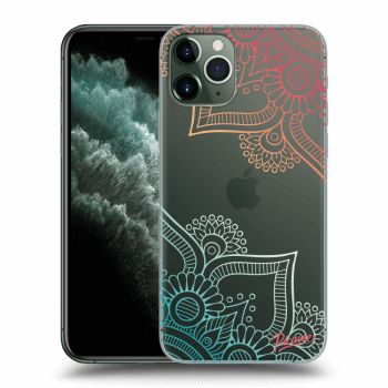 Hülle für Apple iPhone 11 Pro Max - Flowers pattern