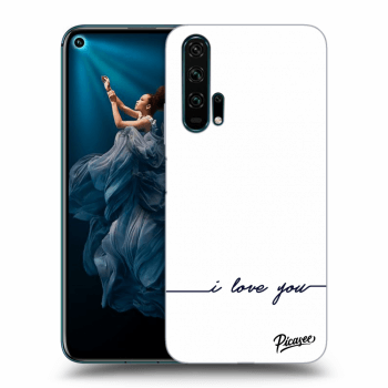 Hülle für Honor 20 Pro - I love you
