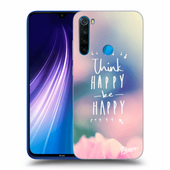 Hülle für Xiaomi Redmi Note 8 - Think happy be happy