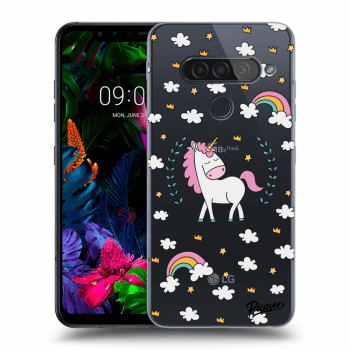 Hülle für LG G8s ThinQ - Unicorn star heaven