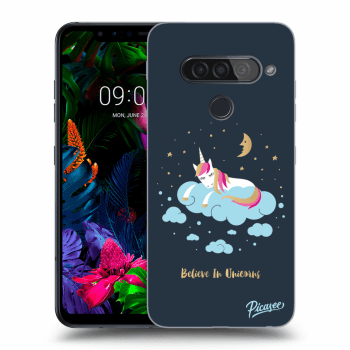 Hülle für LG G8s ThinQ - Believe In Unicorns