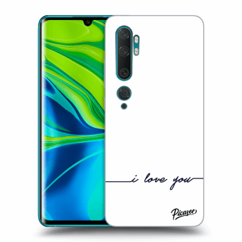 Hülle für Xiaomi Mi Note 10 (Pro) - I love you