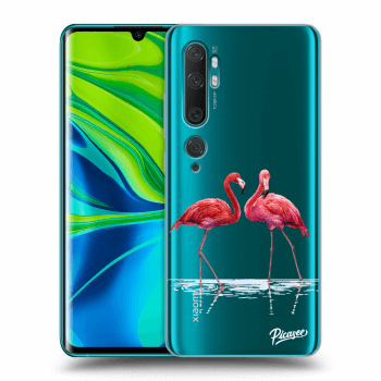 Hülle für Xiaomi Mi Note 10 (Pro) - Flamingos couple