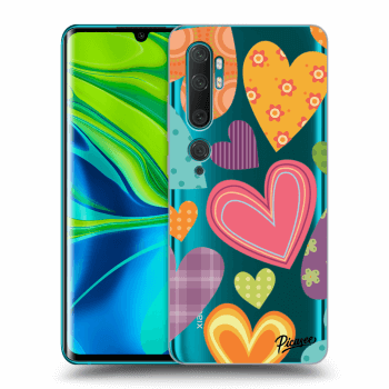 Hülle für Xiaomi Mi Note 10 (Pro) - Colored heart