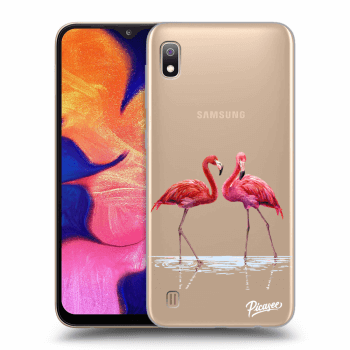 Hülle für Samsung Galaxy A10 A105F - Flamingos couple