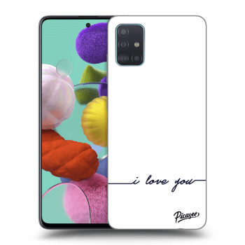 Hülle für Samsung Galaxy A51 A515F - I love you