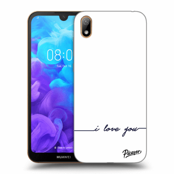 Hülle für Huawei Y5 2019 - I love you