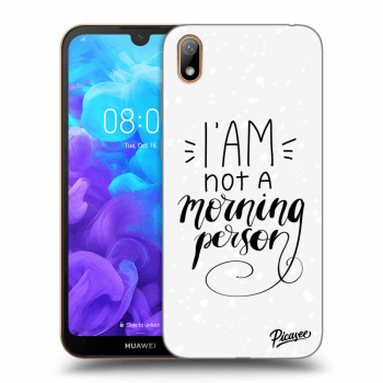 Hülle für Huawei Y5 2019 - I am not a morning person