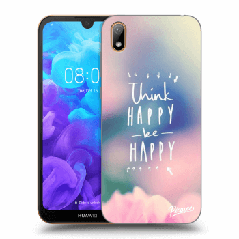 Hülle für Huawei Y5 2019 - Think happy be happy