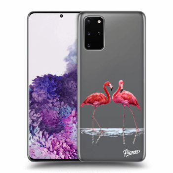 Hülle für Samsung Galaxy S20+ G985F - Flamingos couple