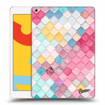 Hülle für Apple iPad 2019 (7. gen) - Colorful roof