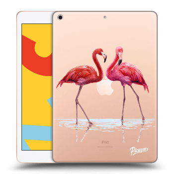 Hülle für Apple iPad 2019 (7. gen) - Flamingos couple