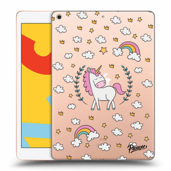 Hülle für Apple iPad 2019 (7. gen) - Unicorn star heaven