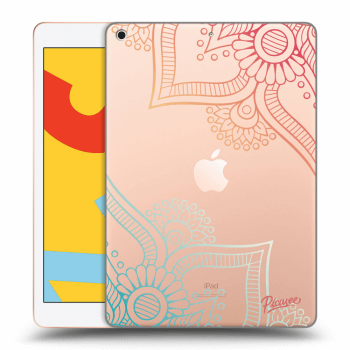 Hülle für Apple iPad 2019 (7. gen) - Flowers pattern