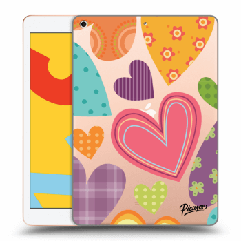 Hülle für Apple iPad 2019 (7. gen) - Colored heart